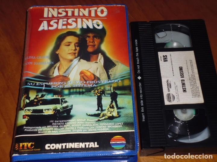 INSTINTO ASESINO - WARIS HUSSEIN, MELISSA GILBERT, WOODY HARRELSON - VHS (Cine - Películas - VHS)