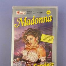 Cine: MADONNA, SU PRIMERA PELÍCULA, VHS. UNA CIERTA JUSTICIA. Lote 225975490