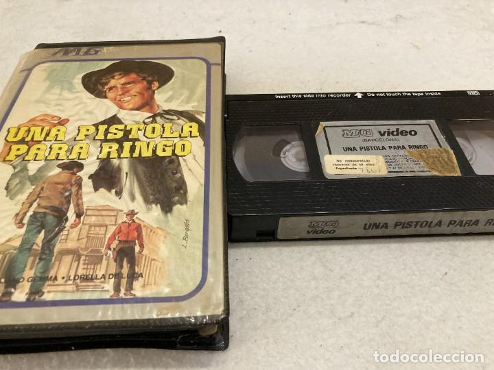 VHS ORIGINAL / UNA PISTOLA PARA RINGO (Cine - Películas - VHS)