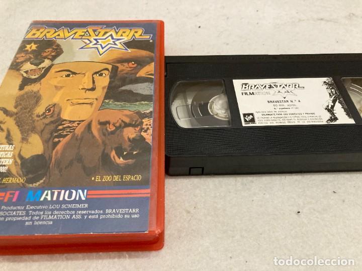 VHS ORIGINAL / BRAVESTARR 4 (Cine - Películas - VHS)