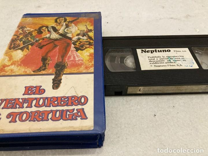 VHS ORIGINAL / EL AVENTURERO DE TORTUGA (Cine - Películas - VHS)