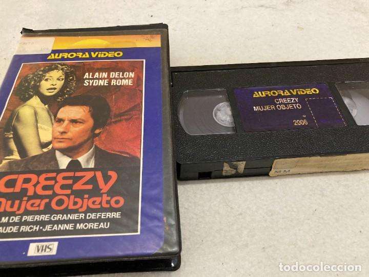 VHS ORIGINAL / CREEZY MUJER OBJETO (Cine - Películas - VHS)