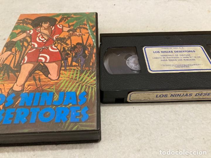 VHS ORIGINAL / LOS NINJAS DESERTORES (Cine - Películas - VHS)