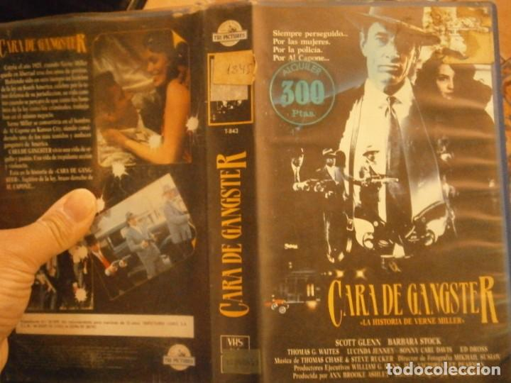 CARA DE GANGSTER' VHS CAJA GRANDE (Cine - Películas - VHS)