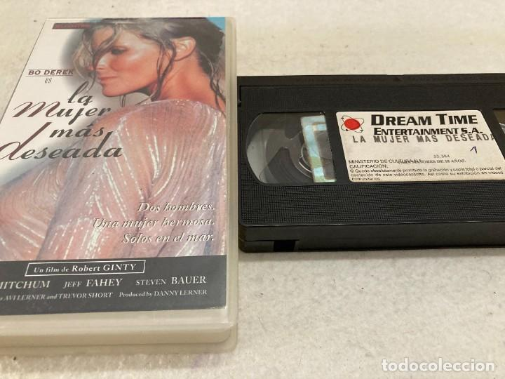VHS ORIGINAL / LA MUJER MAS DESEADA (Cine - Películas - VHS)