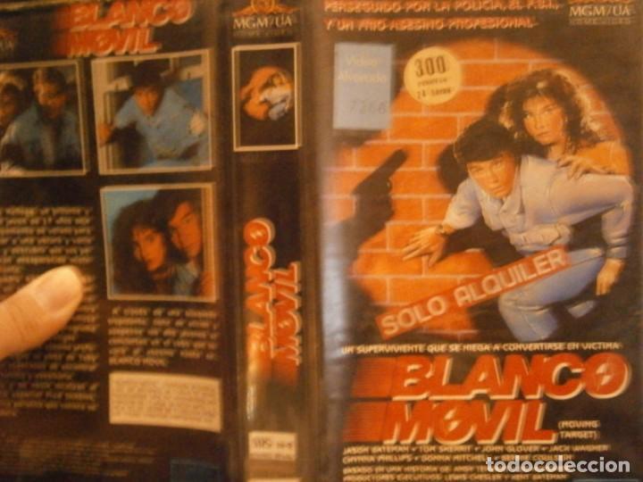 BLANCO MOVIL VHS CAJA GRANDE¡¡ (Cine - Películas - VHS)