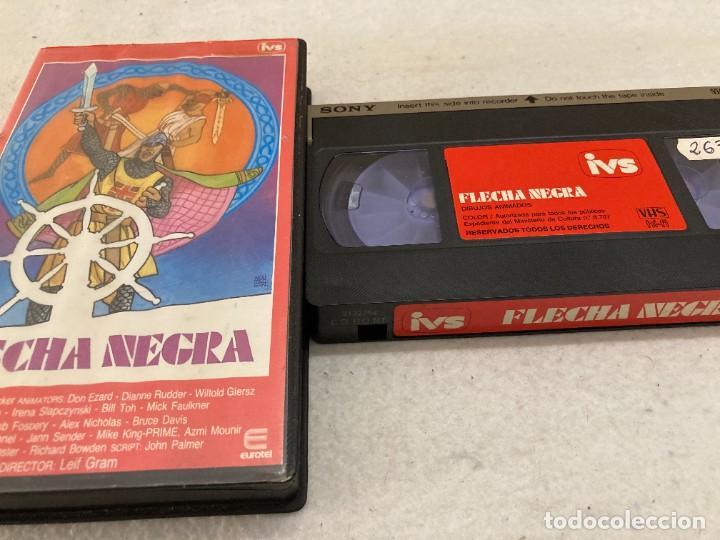 VHS ORIGINAL / FLECHA NEGRA (Cine - Películas - VHS)