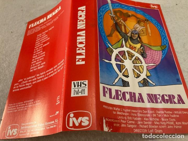 Cine: VHS ORIGINAL / FLECHA NEGRA - Foto 3 - 226125270