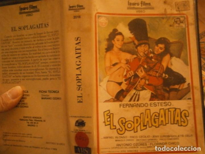 EL SOPLA GAITAS ,VHS CAJA GRANDE¡¡ (Cine - Películas - VHS)