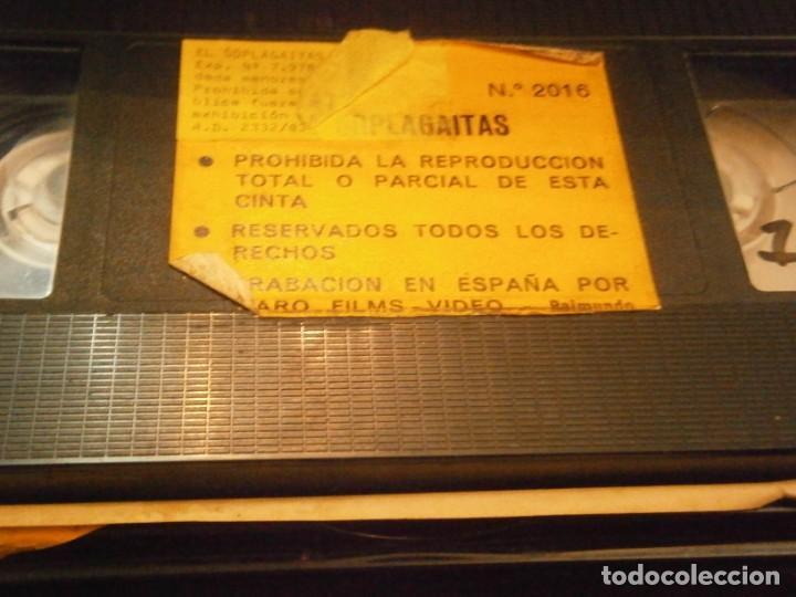 Cine: el sopla gaitas ,vhs caja grande¡¡ - Foto 2 - 226125825