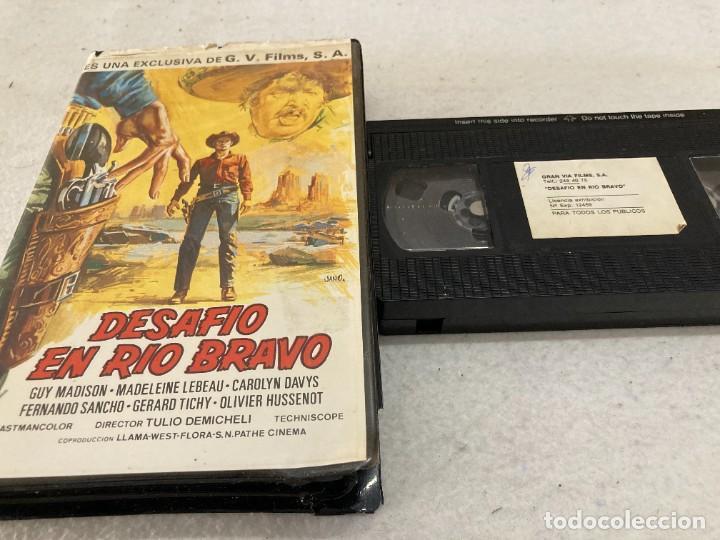 VHS ORIGINAL / DESAFIO EN RIO BRAVO (Cine - Películas - VHS)