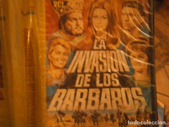 Cine: la invasion de los barbaros¡vhs caja grande¡¡ - Foto 2 - 226125993