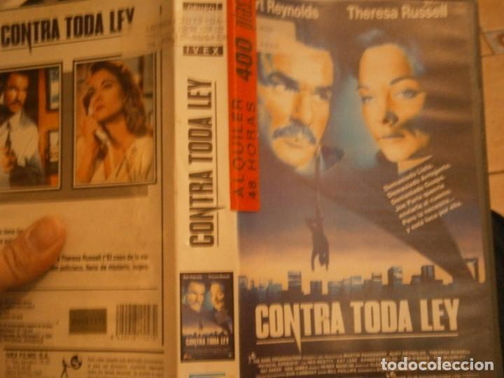CONTRA TODA LEY,,VHS CAJA GRANDE¡¡ (Cine - Películas - VHS)
