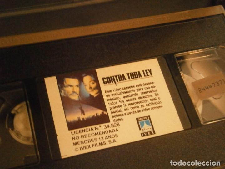Cine: contra toda ley,,vhs caja grande¡¡ - Foto 2 - 226129710