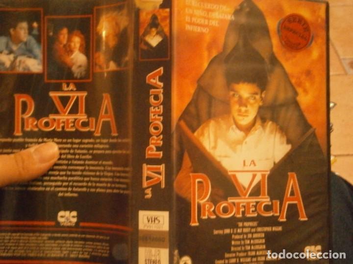 Cine: la profecia v ¡vhs caja grande¡¡ - Foto 4 - 226130020