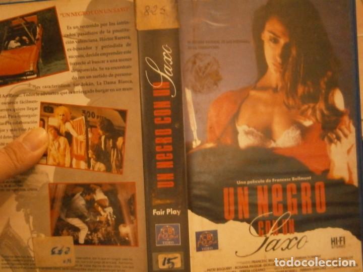 UN NEGRO CON UN SAXO,,VHS CAJA GRANDE¡¡ (Cine - Películas - VHS)