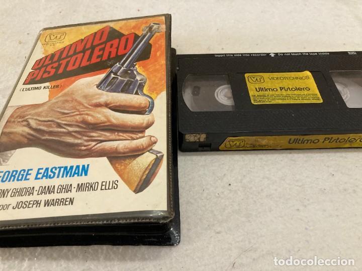 VHS ORIGINAL / ULTIMO PISTOLERO (Cine - Películas - VHS)