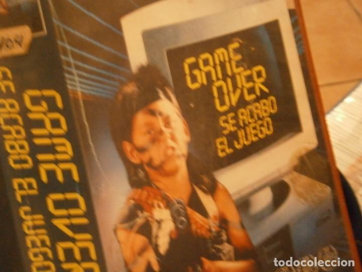 Cine: game over se acabo el juego¡¡vhs caja grande¡¡ - Foto 4 - 226130803
