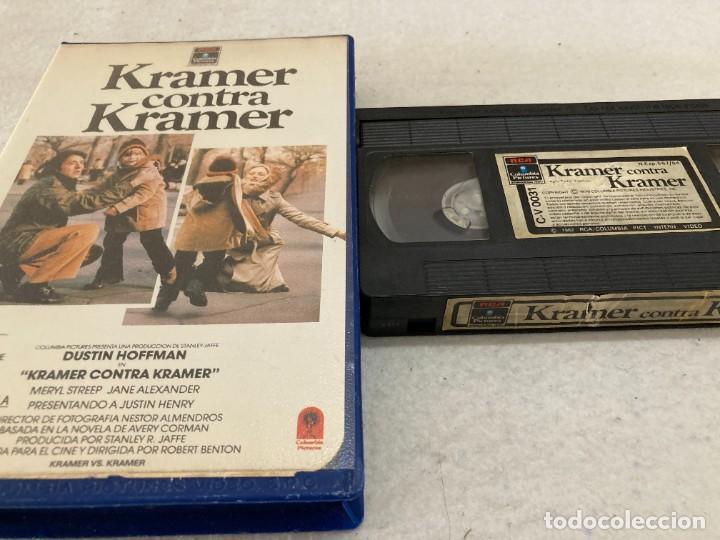 VHS ORIGINAL / KRAMER CONTRA KRAMER (Cine - Películas - VHS)