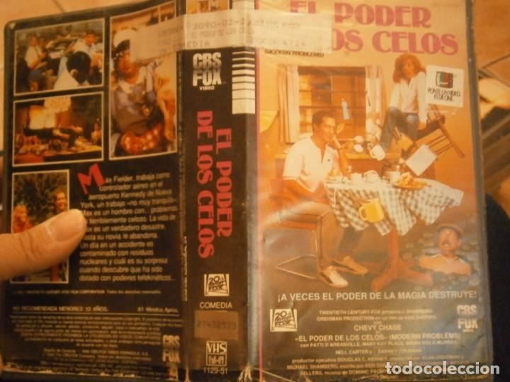 EL PODER DE LOS CELOS¡VHS (Cine - Películas - VHS)