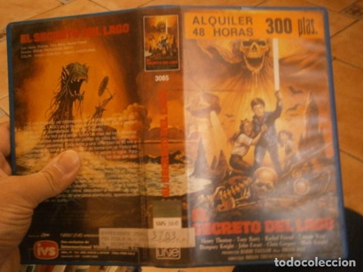 EL SECRETO DEL LAGO VHS 1 EDICCION¡ (Cine - Películas - VHS)