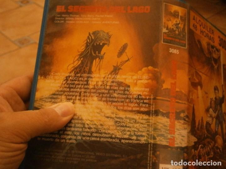 Cine: el secreto del lago vhs 1 ediccion¡ - Foto 5 - 226137470