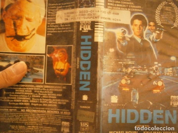 HIDDEN,,VHS,,1 EDICION¡ (Cine - Películas - VHS)