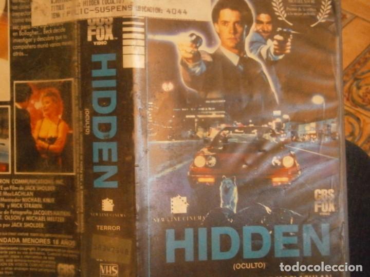 Cine: hidden,,vhs,,1 edicion¡ - Foto 2 - 226137640