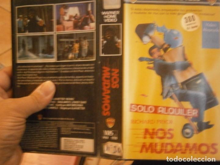 NOS MUDAMOS VHS 1 EDICCION¡ (Cine - Películas - VHS)