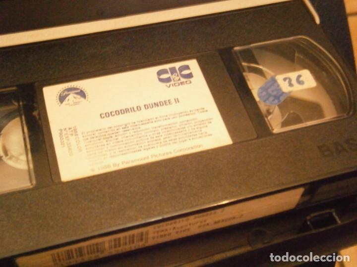 Cine: cocodrilo dundee¡¡vhs caja grande¡¡ - Foto 2 - 226138620