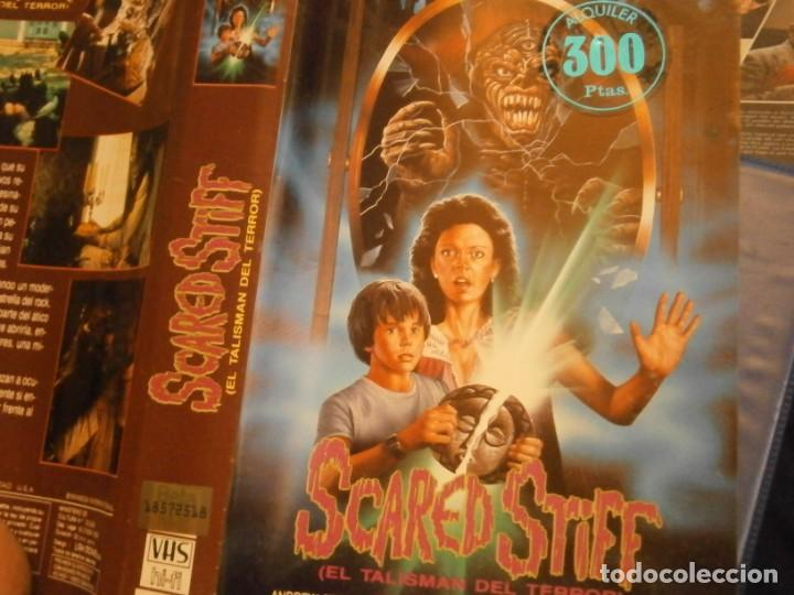 Cine: scared stiff,el talisman del terror,vhs caja grande¡¡ - Foto 8 - 226139610