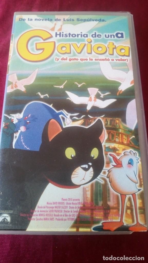 HISTORIA DE UNA GAVIOTA (Cine - Películas - VHS)