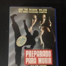 Cine: PREPARADO PARA MORIR VHS COMPRA MINIMA 6€. Lote 226357850