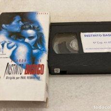 Cine: VHS ORIGINAL / INSTINTO BASICO. Lote 226363168