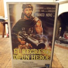 Cine: EL REGRESO DE UN HEROE - FRANCO NERO , LICIA LEE , DONALD PLEASANCE - IVEX 1985. Lote 226400920