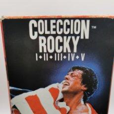 Cine: COLECCIÓN ROCKY VHS ROCKY 5 VHS , ROCKY L,LL,LLL,LV, V.. Lote 227207362