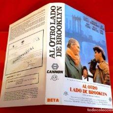 Cine: AL OTRO LADO DE BROOKLYN - SOLO CARÁTULA 1ª EDIC. Lote 227929515
