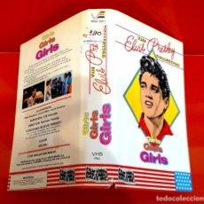Cine: GIRLS GIRLS GIRLS - ELVIS PRESLEY - SOLO CARATULA V. ESPAÑA. Lote 227929713