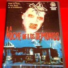 Cine: LA NOCHE DE LOS DEMONIOS (1988) - NIGHT OF THE DEMONS - MEDUSA HOME VIDEO. Lote 227930615