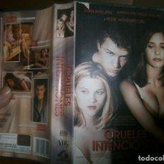 Cine: PELICULA VHS, CRUELES INTENCIONES. Lote 228070380