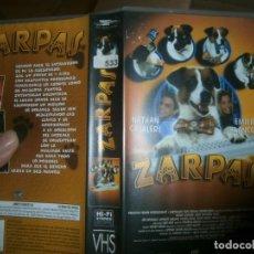 Cine: PELICULA VHS, ZARPAS. Lote 228070450