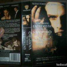Cine: PELICULA VHS, ENTREVISTA CON EL VAMPIRO. Lote 228070500