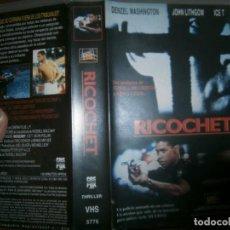 Cine: PELICULA VHS, RICOCHET. Lote 228070515