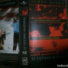 Cine: PELICULA VHS, EL ULTIMO MARSHALL. Lote 228070551