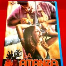 Cine: LA MATANZA DE TEXAS - THE TEXAS CHAINSAW MASSACRE (1974) - EDICIÓN ORO VIDEO GALA. Lote 228071985