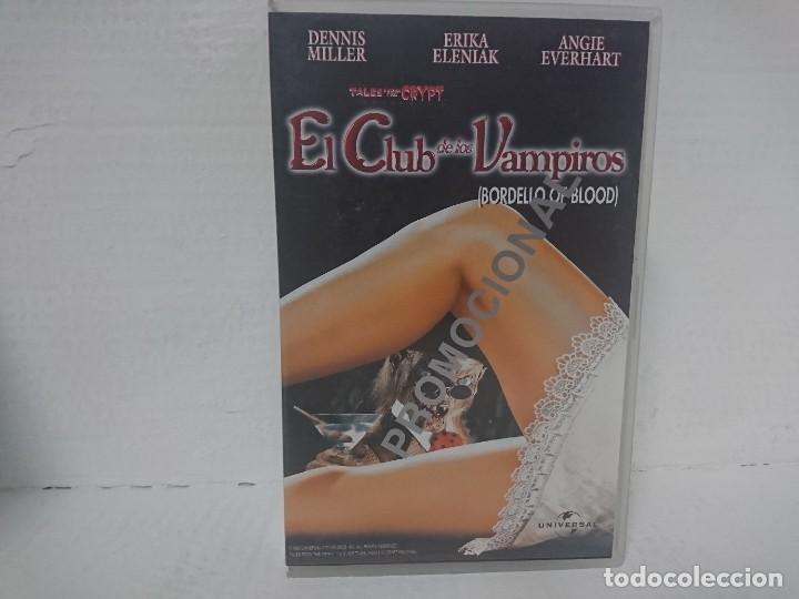 EL CLUB DE LOS VAMPIROS VHS (Cine - Películas - VHS)