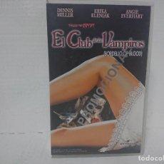 Cine: EL CLUB DE LOS VAMPIROS VHS. Lote 230103445