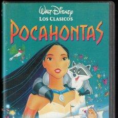 Cine: POCAHONTAS - VHS - LOS CLASICOS WALT DISNEY. Lote 288687838