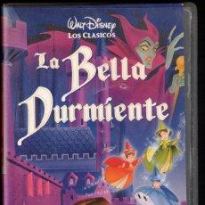 Cine: LA BELLA DURMIENTE - VHS - CLASICOS WALT DISNEY. Lote 288688063