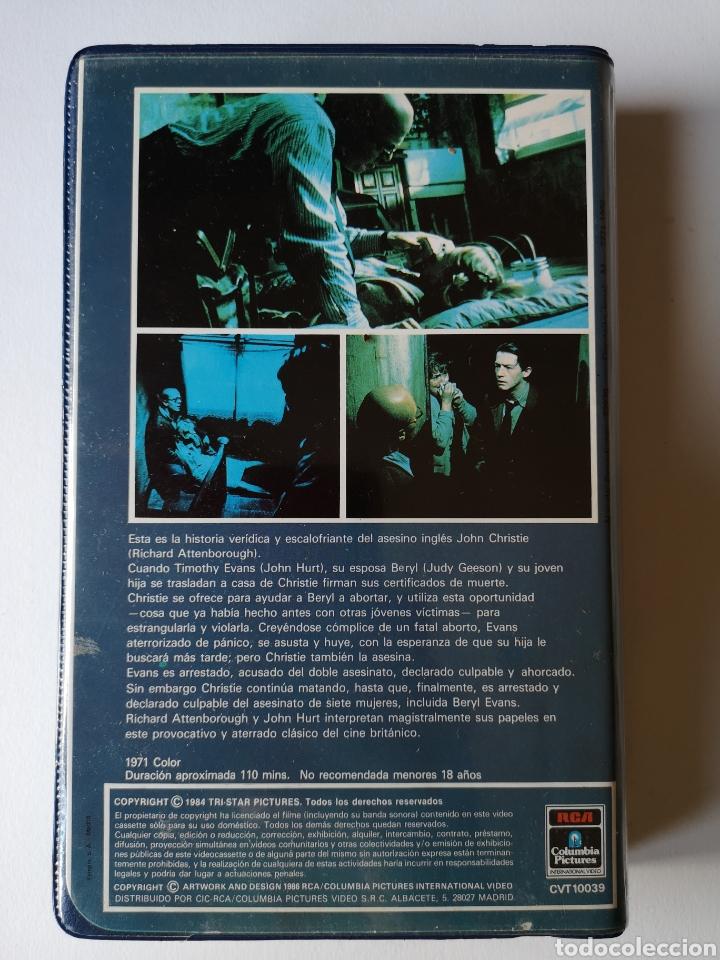 Cine: El Estrangulador De Rillington Place Cine de Terror VHS - Foto 2 - 230528215